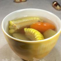 雪蓮果甜玉米湯