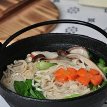蔬菜蘑菇麵