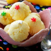 蛋奶芒果冰激凌的做法