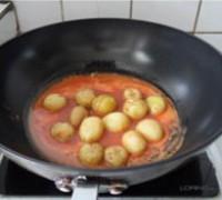 菠蘿醬汁咕嚕土豆球的做法圖解14