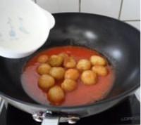菠蘿醬汁咕嚕土豆球的做法圖解16