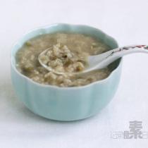 荷葉綠豆粥