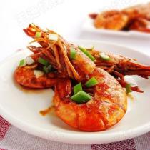 家常乾燒阿根延大紅蝦的做法