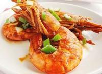 家常乾燒阿根延大紅蝦的做法圖解8