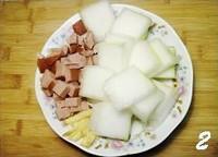 火腿冬瓜湯的做法圖解2