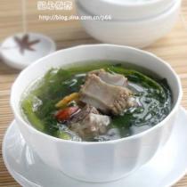 西洋菜排骨湯的做法