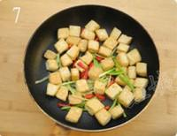 可樂豆腐的做法圖解7