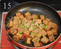 可樂豆腐的做法圖解15