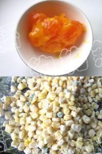 金沙玉米盞的做法圖解1
