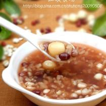 薏米紅豆蓮子粥的做法