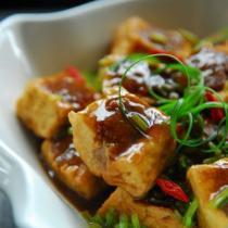 客傢煎釀豆腐的做法