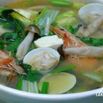 海鮮砂鍋豆腐