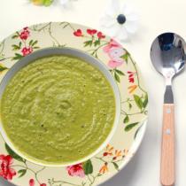 青菜奶油蘑菇濃湯的做法