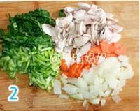 青菜奶油蘑菇濃湯的做法圖解1