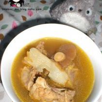 黃芪天麻乾蘑雞架湯