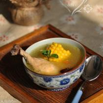 玉米大棗雞湯的做法