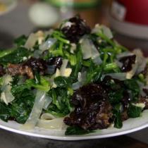 涼拌寬粉菠菜的做法