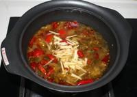 酸菜肉片湯的做法圖解5