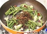 梅乾菜乾煸豆角的做法圖解8