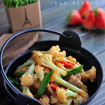 乾鍋花菜的做法