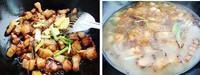 杏鮑菇紅燒肉的做法圖解5