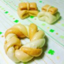 蝴蝶結饅頭