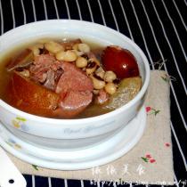 老黃瓜眉豆豬骨湯