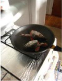 三文魚頭豆腐湯的做法圖解3