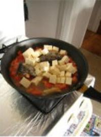 三文魚頭豆腐湯的做法圖解7