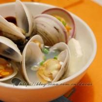白蛤豆腐湯