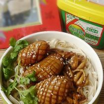 醬爆魷魚麵