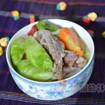 排骨燉兒菜的做法