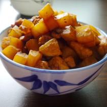 土豆炸醬麵