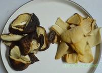 黑豬蹄膀菌菇湯的做法圖解2