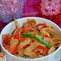 素炒魚香肉絲