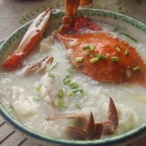 生滾螃蟹粥