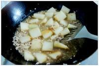 肉末燒冬瓜的做法圖解3