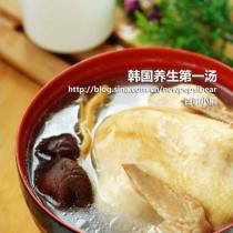 高麗參雞湯