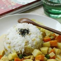 時蔬咖喱雞的做法