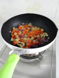 咖喱雜蔬的做法圖解2