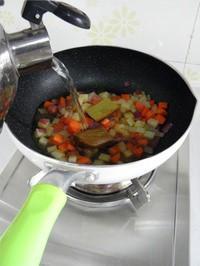 咖喱雜蔬的做法圖解3