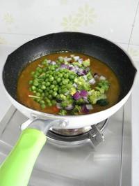 咖喱雜蔬的做法圖解5