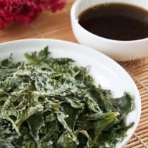 粉蒸芹菜葉的做法