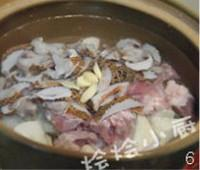 淮山螺肉湯的做法圖解6