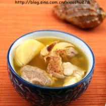 淮山螺肉湯的做法