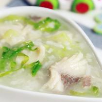 生菜魚片粥
