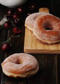 原味甜甜圈的做法圖解4