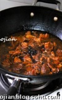 家常紅燒牛肉的做法圖解6