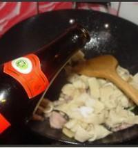 彩椒炒豆腐皮結的做法圖解9