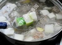 帶皮冬瓜排骨湯的做法圖解8